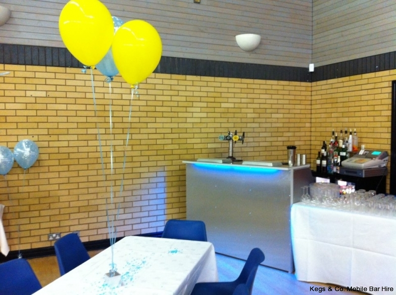 Mobile Bar for a Christening in a Sports Hall 2012