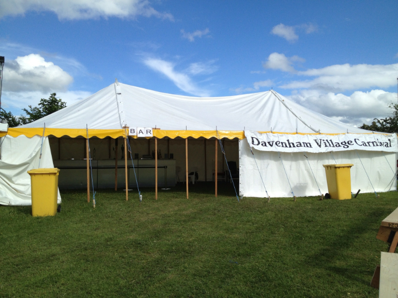 Davenham Festival Bar Hire 2013